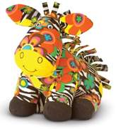 Melissa & Doug Toddler 'Beeposh - Zelda Zebra' Plush Toy