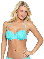 Betsey Johnson Ballerina Mesh Molded Bra Top