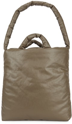 Kassl Editions Oil Olive Padded Coated Tote
