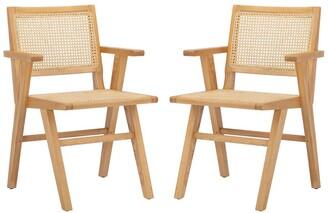 Safavieh Hattie French Cane Arm Chair