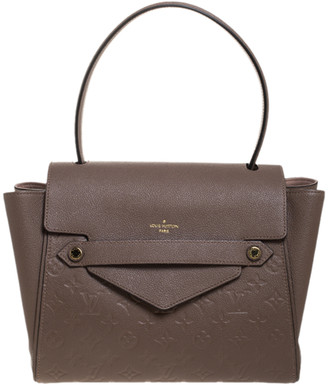 Louis Vuitton Bronze Monogram Empreinte Leather Trocadero Bag