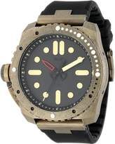 Vestal Men's RSD3S03 Restrictor Diver 50 Antique Gold Watch