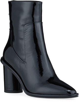 Rag & Bone Wiley Patent Zip Ankle Boots