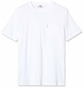 Ben Sherman Men's The Plain Pocket Crew Tee T-Shirt