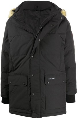 Canada Goose Fur-Trimmed Quilted-Down Coat