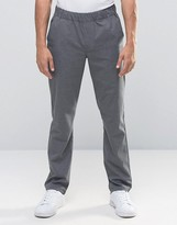 Asos Slim Trousers With Elastic Waistband