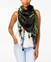 Vince Camuto Lola Havana Oversize Square Cover-up & Scarf