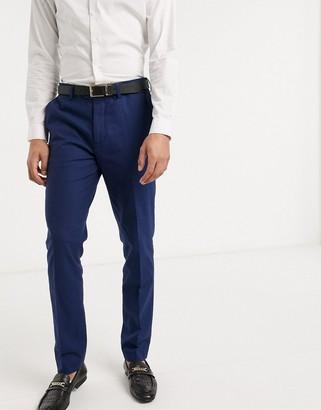Gianni Feraud Wedding linen slim fit suit pants