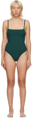 Lido Green Tre One-Piece Swimsuit