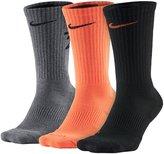 Nike Men's 3-pack Dri-Fit Fly V4 Crew Socks