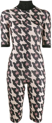 Atu Body Couture Animal Pattern Playsuit