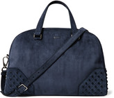 Tod's - Studded Suede Holdall