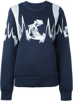 MCM embroidered knitted sweater - women - Lyocell - S