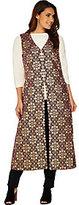 C. Wonder As Is Brocade Lurex Vest with Lining
