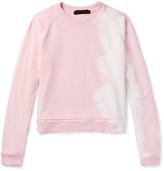 Haider Ackermann - Twill-panelled Printed Cotton-jersey Sweatshirt