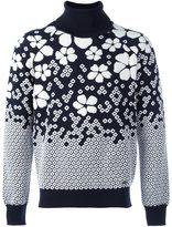 DSQUARED2 embroidered floral jumper