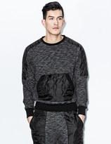 unyforme Black Vanguard Crewneck Sweater