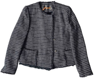 BOSS ORANGE Navy Cotton Jacket for Women