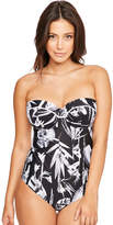 Fantasie Cocoa Island Underwired Bandeau Control Swimsuit