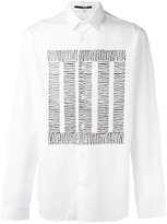 McQ Block Thread print shirt