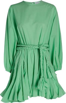 Rhode Resort Ella Cotton Poplin Mini Dress