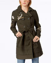 INC International Concepts I.n.c. Embroidered Trench Coat, Created for Macy's