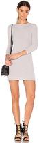 Blq Basiq x REVOLVE Hacci Long Sleeve Mini Dress in Gray. - size 1(M/L) (also in )