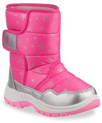 Josmo Girl's Rugged Bear Snow Boots