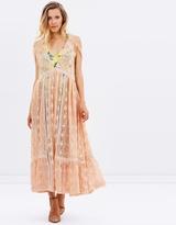 Free People Shine On Midi Dress