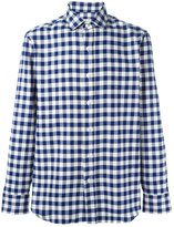 Salvatore Piccolo checked classic shirt