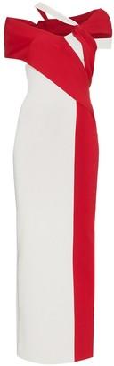 Haider Ackermann Bi-Colour Maxi Dress