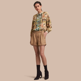 Burberry Tailored Silk Shorts