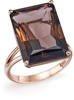 Bloomingdale's Smoky Quartz Statement Ring in 14K Rose Gold