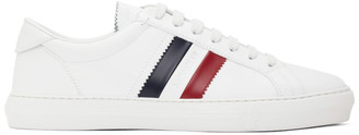 Moncler White New Monaco Sneakers