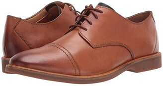 Clarks Atticus Cap (Tan Leather) Men's Shoes