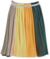 Molo Brook Tulle Rainbow Skirt, Multicolor, Size 3T-14