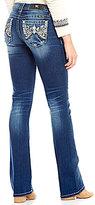 Miss Me Art Nouveau Embelished Low-Rise Bootcut Jeans