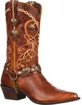 """Durango Boot DCRD180 11"""" Heart Concho Crush (Women's)"""