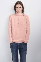 Rhianna Mixed Stitch Mock Neck Sweater