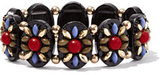 New York & Co. Floral Beaded Stretch Bracelet