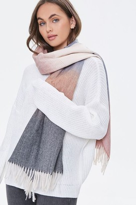 Forever 21 Ombre Wash Oblong Scarf