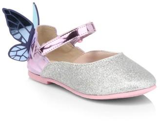 Sophia Webster Baby's & Little Girl's Chiara Butterfly Heel Flats