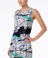 Bar III Printed Lace Top, Created for Macy's