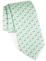 Vineyard Vines Men's Sail & Sun Print Silk Tie