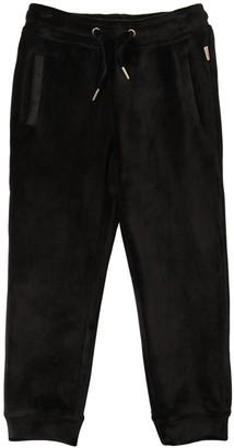 Little Marc Jacobs Velvet Sweatpants