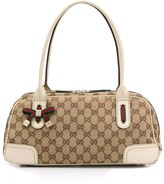 Gucci Pre Owned interlocked GG jacquard handbag