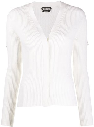 Tom Ford Ribbed Long-Sleeved Cardigan