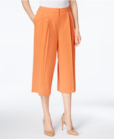 Nine West Pleated Cropped Culottes
