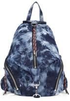 Rebecca Minkoff Medium Julian Tie-Dye Denim Backpack
