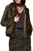 Sanctuary Women's Faux Fur Bomber Jacket